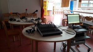 Studio radio au CDI